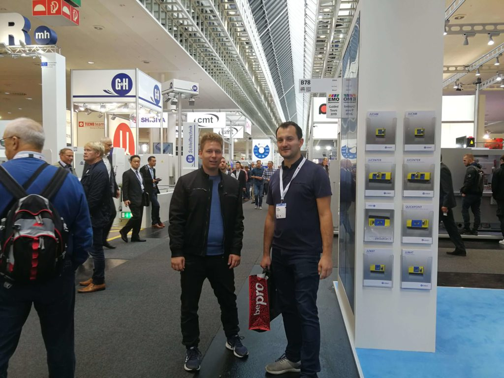 Toptech na targach EMO Hannover 2019